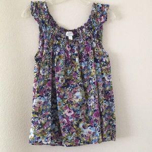 Flowy Loft floral shirt!